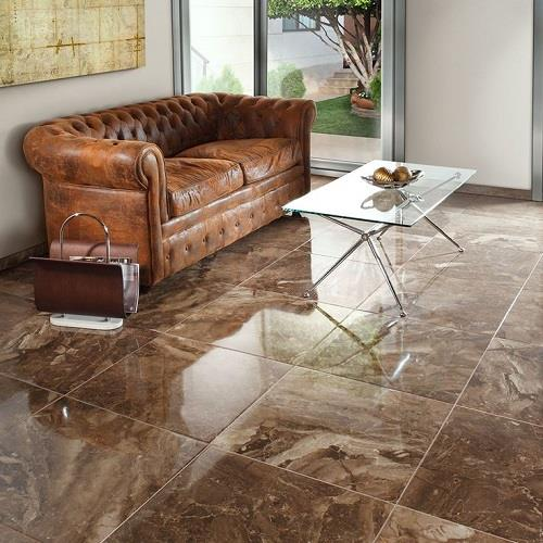 China Brown Gloss Porcelain Floor Tiles Manufacturers And Suppliers