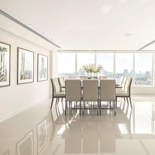 China White Polished Ceramic Floor Tiles Manufacturers And Suppliers