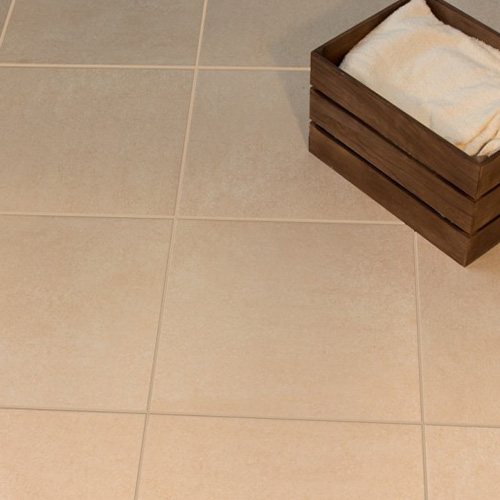 Beige Matte Ceramic Floor Tiles