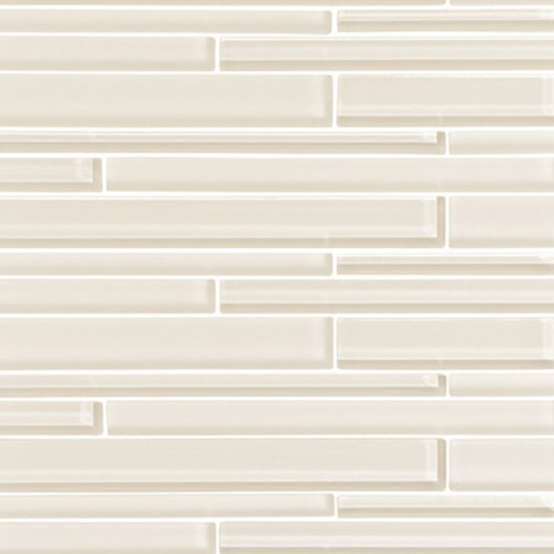 Cream Strip Mosaic Tiles
