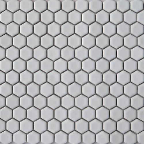 Grey Hexagon Mosaic Tiles