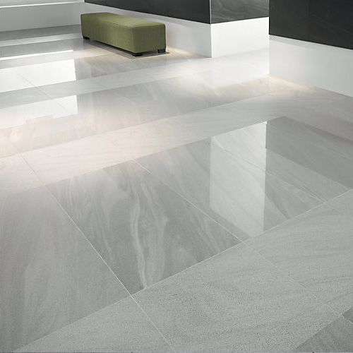 China Grey Polished Porcelain Floor Tiles Manufacturers And