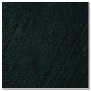 Black Glazed Ceramic Floor Tiles