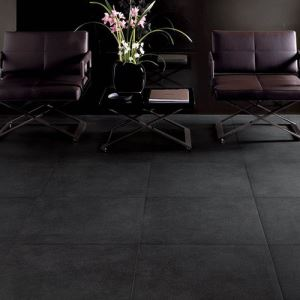 Black Gloss Ceramic Floor Tiles