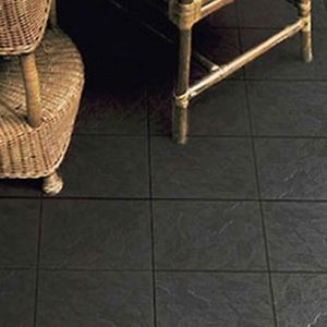 Black Matte Ceramic Floor Tiles