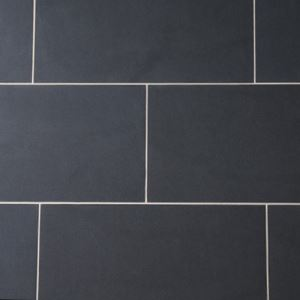 Black Matte Porcelain Floor Tiles