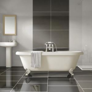Black Polished Porcelain Wall Tiles
