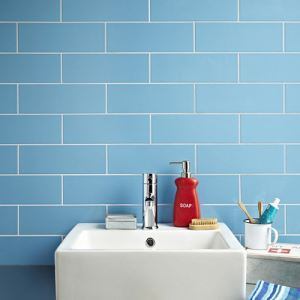 Blue Glased Ceramic Wall Tiles