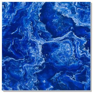 Blue Glazed Porcelain Wall Tiles
