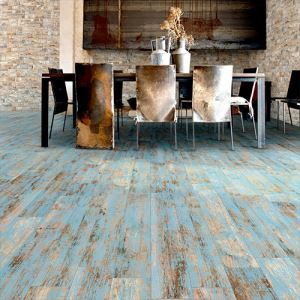 Blue Rustic Ceramic Floor Tiles