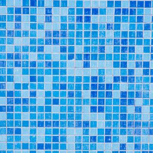 Blue Square Mosaic Tiles