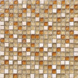 Cream Glass Mosaic Tiles