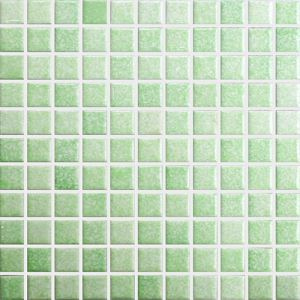 Green Square Mosaic Tiles