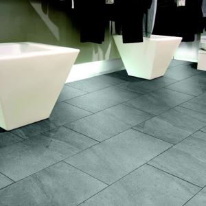 Grey Glazed Porcelain Floor Tiles