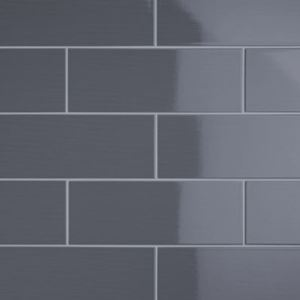 Grey Gloss Ceramic Wall Tiles