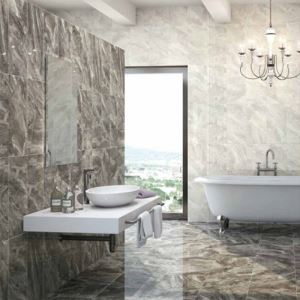 Patterned Gloss Ceramic Floor Tiles