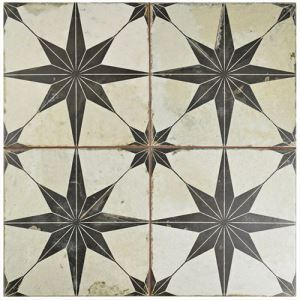 Patterned Rustic Ceramic Floor Tiles