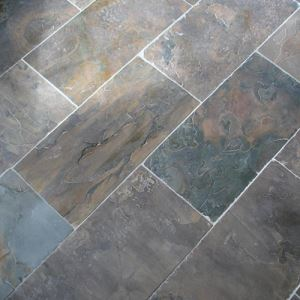 Patterned Rustic Porcelain Floor Tiles