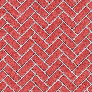 Red Herringbone Mosaic Tiles