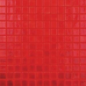 Red Square Mosaic Tiles