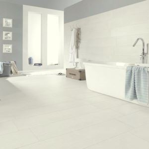 White Matte Ceramic Floor Tiles