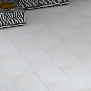 White Textured Porcelain Floor Tiles