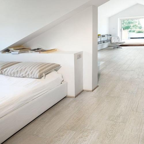 White Rustic Ceramic Floor Tiles