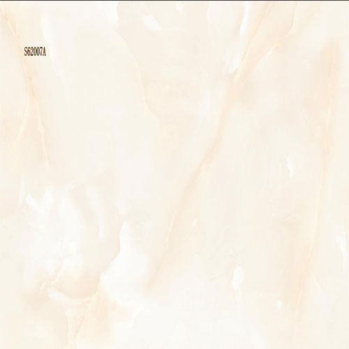Cream Marble-Look Porcelain Wall Tile