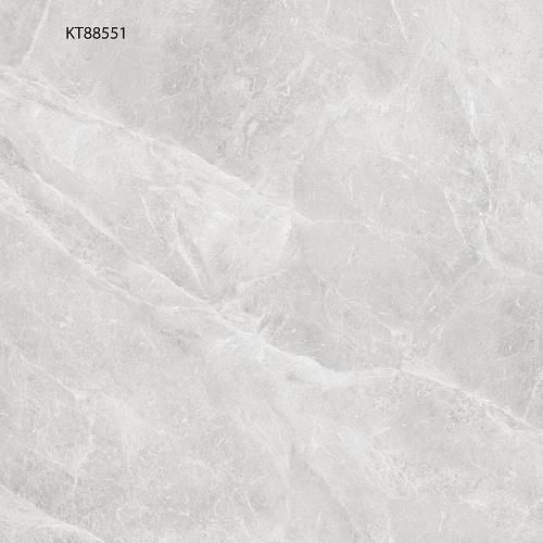 Grey Polished Finish Marble Look Porcelain 800x800 Floor Tile