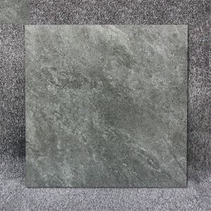 12x12 Dark Gray Matt Porcelain Floor Tile