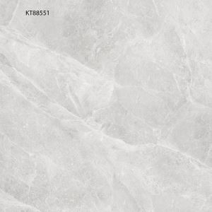 Grey Marble-Look Porcelain Flooring Tile