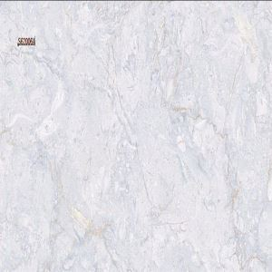 Blue Marble-Look Porcelain Wall Tile