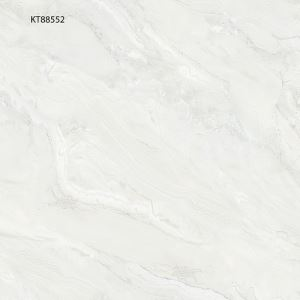 White Marble-Look Porcelain Flooring Tile