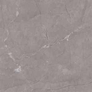 Dark Gray Marble-look Porcelain Wall Tile