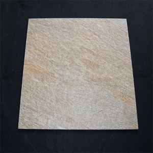 Beige Textured Porcelain Floor Tile