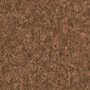 Brown Marble-Look Porcelain Floor Tile