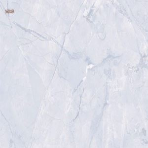 White Marble-Look Porcelain Wall Tile