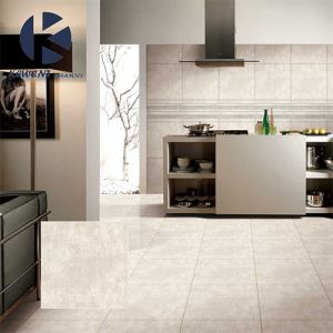 Matting Marble-Look Floor Porcelain Tile