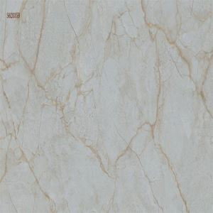 Green Marble-Look Wall Porcelain Tile