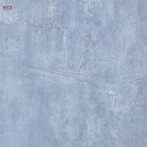 Blue Marble-Look Wall Porcelain Tile