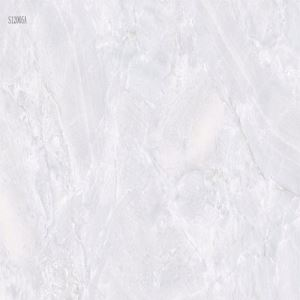 Ivory White Marble-Look Wall Porcelain Tile