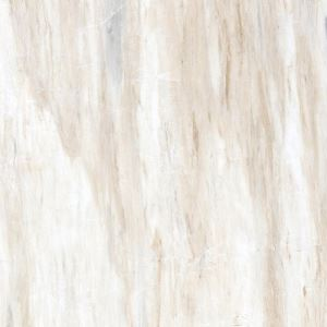 Light Beige Marble-Look Floor Porcelain Tile